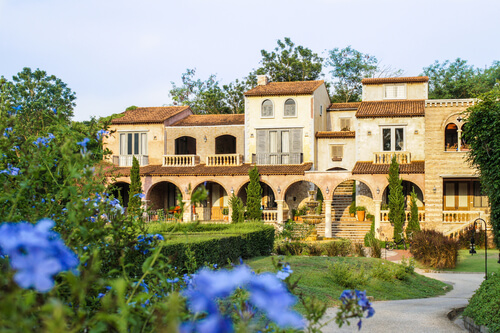 Austin Tuscan-style Home Exterior